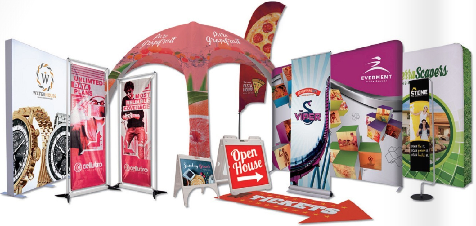Custom Print Event Display Flags Banners