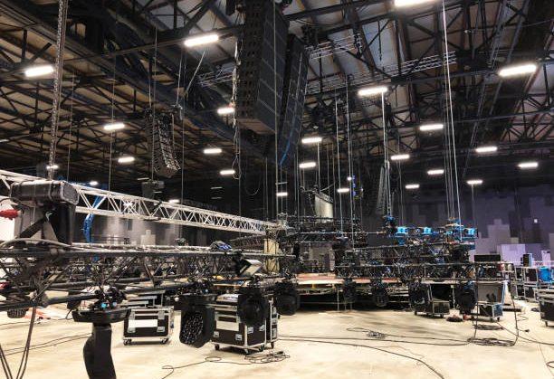 event concert rigging