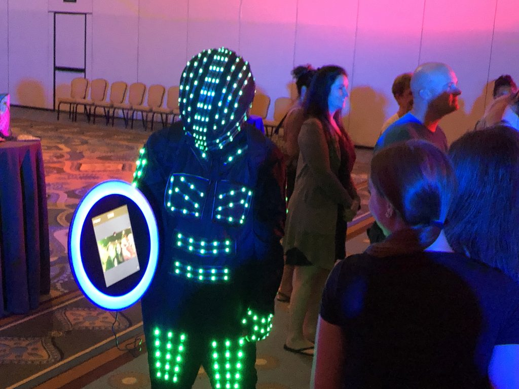 Led Robot Photo Gif Booth